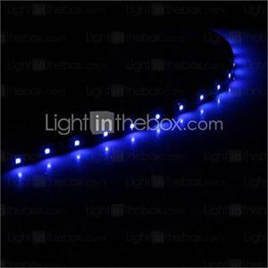 0.3M 15x1210SMD Cool WhiteBlue Light LED Waterproof Flexible String Light (DC 12V)