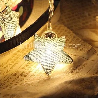 10-LED 1.5M Star Light Waterproof Plug Outdoor Christmas Holiday Decoration Light LED String Light