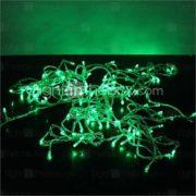 10M 100-LED Green Light 8 Sparking Modes Christmas String Fairy Lamp (220V)