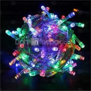 10M 33FT 100 LED Fairy String Lights Christmas Wedding Party Xmas Decoration