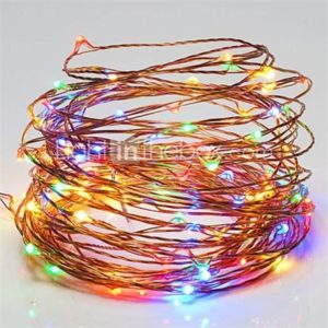 1PC LED Home Christmas Outdoors Decorate 10M 100 Dip Waterproof String Lights