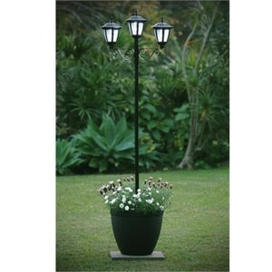3 Solar Light Planter