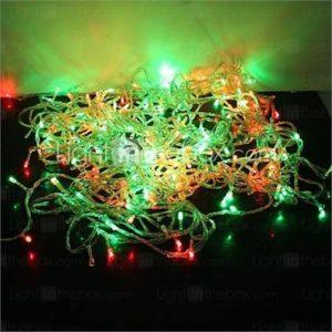 30M 300-LED Colorful Light 8 Sparking Modes Christmas Fairy String Light (220V)