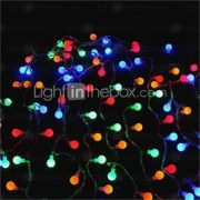 32-LED 6M Christmas Holiday Decoration RGB Light LED String Light (DC12V)
