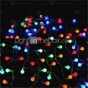 32-LED 6M Christmas Holiday Decoration RGB Light LED String Light (DC12V)