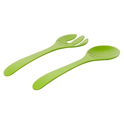 Barel Designs Barel Everyday Melamine 2-Piece Salad Server Set (Bumbo Lime)