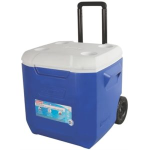 Coleman - 42 Litre Wheeled Cooler - Blue