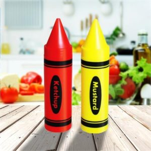 Condiment Crayons Sauce Dispensers   Mustard Ketchup