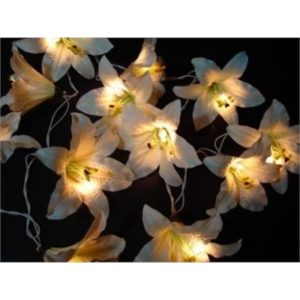 Cream Lily String Light