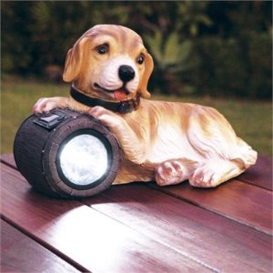 Cute Puppy Solar Light