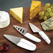 'Duo' Magnetic Cheese Knife Set | Joseph & Joseph
