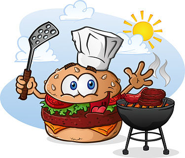 Burger Recipes Cartoon Hamburger