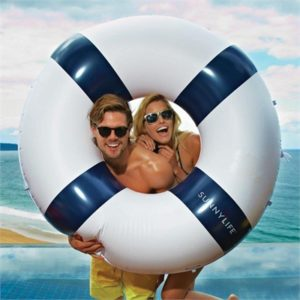 Giant Inflatable Life Ring | SunnyLife
