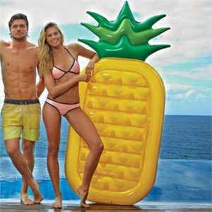 Giant Inflatable Pineapple Pool Toy | SunnyLife