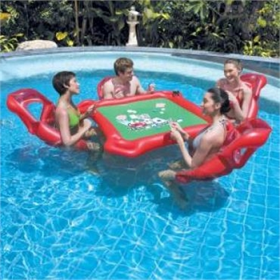Inflatable Cards Table