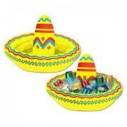 Inflatable Fiesta Sombrero Drink Cooler
