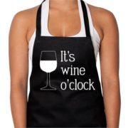 It's Wine O' Clock Apron   Annabel Trends