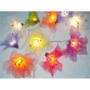 Mixed Colour Lily String Light
