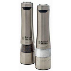 Russell Hobbs - Salt & Pepper Mills - Brushed Stainless Steel