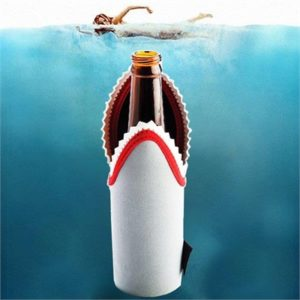 Shark Stubby Holder