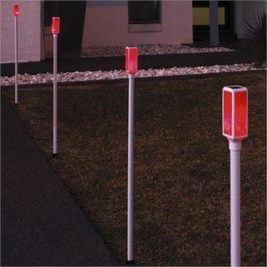 Solar Driveway Markers x 4