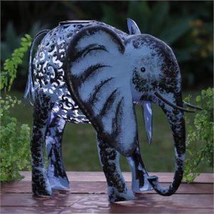 Solar Metal Elephant
