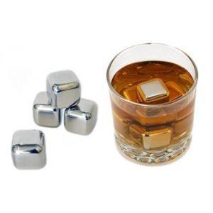 Stainless Steel Whiskey Rocks (Set of 8)