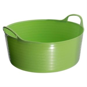 Tubtrugs Multipurpose Flexible Shallow Tub (Evo Pistachio 15L)