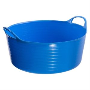 Tubtrugs Multipurpose Flexible Shallow Tub (Printers Blue 7461 15L)