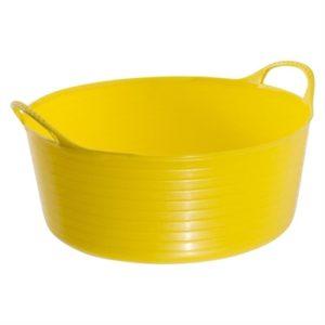 Tubtrugs Multipurpose Flexible Shallow Tub (XX Yellow 15L)