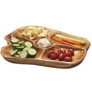 Wooden Carved Platter