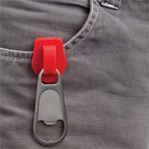 Zipper Bottle Opener