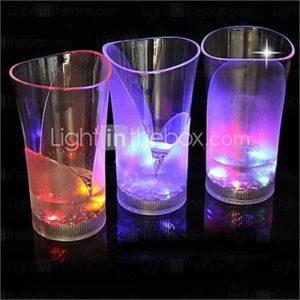 Coway The Bar Dedicated Light-Emitting LED Nightlight Vase Glass