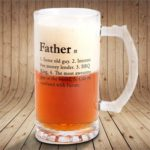 Beer and BBQ Gifts - Fathers Stein Beer Glass