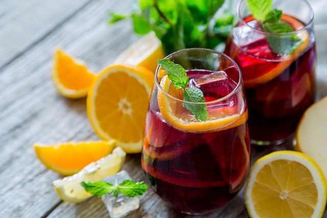 Sangria Recipes Drinks Pic
