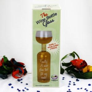 The Wine Bottle Glass Novelty Gift
