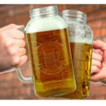 Beer and BBQ Gifts - Mason Jar Giant 2 Litre Beer Stein